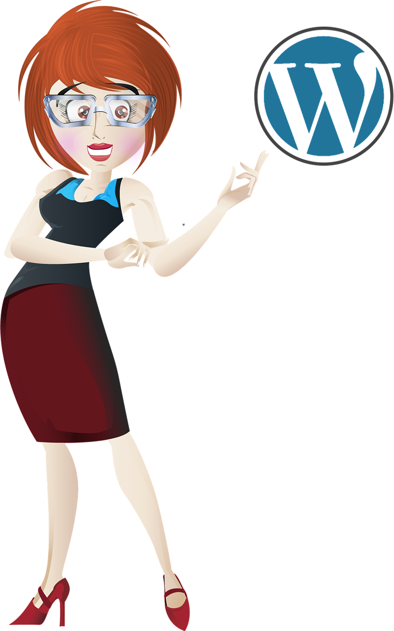 wordpress, business, woman